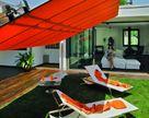 Parasol ogrodowy na 2 podstawach Flexy