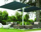 Parasol ogrodowy Flexy Twin