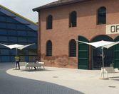 Parasol Vela Muzeum Ferrari