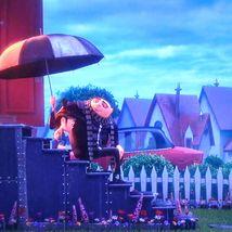 Minionki 2 - wszscy potrzebują parasole...