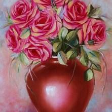 Róże olejny 30x40cm