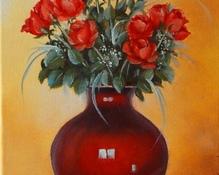 Róże olej 50x60cm