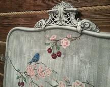 rama od łóżka,malowana