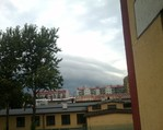 Shelf Cloud (fot. Mazurska Pogoda )