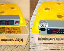 Moje inkubatory/ 48 jaj/