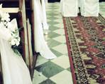 dekoracje ślubne wołów
