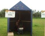 Wróżka w namiocie - Piknik LeasePlan 2013