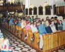 Nadanie imienia szkole 1.06.2002 - uroczysta msza św.