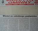 Informacja w Biuletynie Gminnym nt. Nadanie imienia szkole 1.06.2002