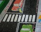 """II - miejsce klas 1-3 - Konkurs plastyczny """"Bezpieczna droga do szkoły"""""""