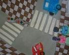 """III - miejsce klas 1-3 - Konkurs plastyczny """"Bezpieczna droga do szkoły"""""""