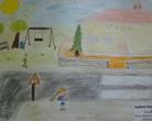 """Konkurs plastyczny """"Bezpieczna droga do szkoły"""""""