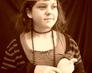 """""""Dama z łasiczką"""" wg. portretu mistrza Leonardada da Vinci"""
