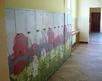 korytarz szkolny - piętro, szatnia pierwszaków
