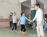 Sportowe zmagania uczniów