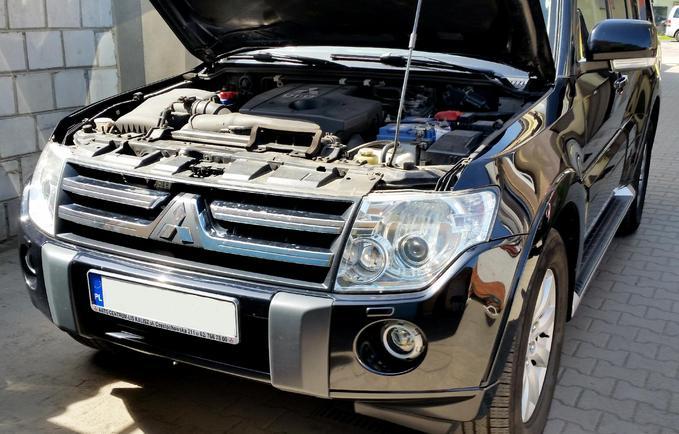 Regeneracja reflektorów Mitsubishi Pajero