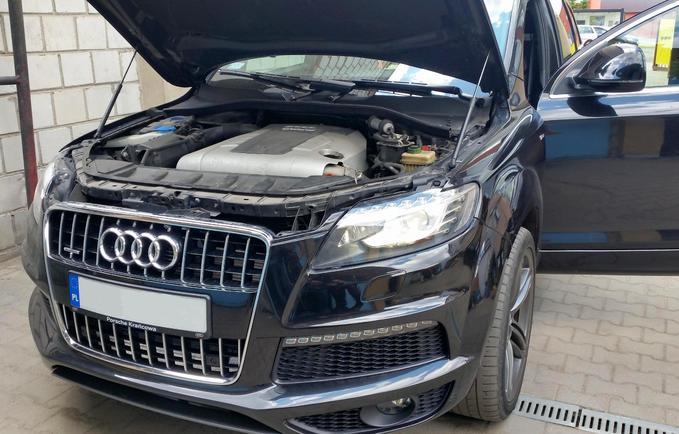 Wymiana modułu Audi Q7