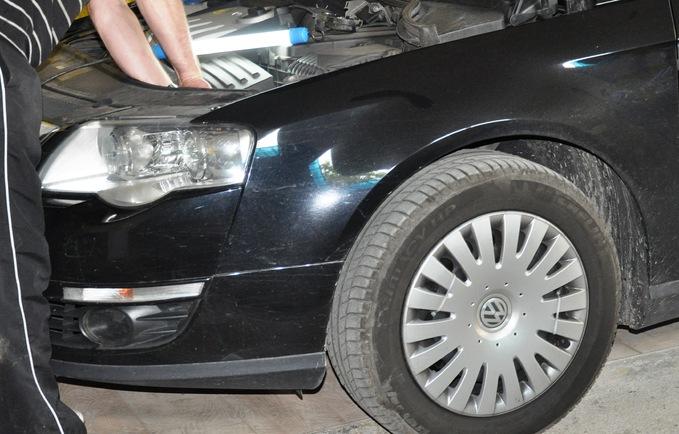 Wymiana palników D1S VW Passat B6