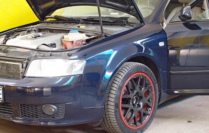 Regeneracja reflektorów Audi A4