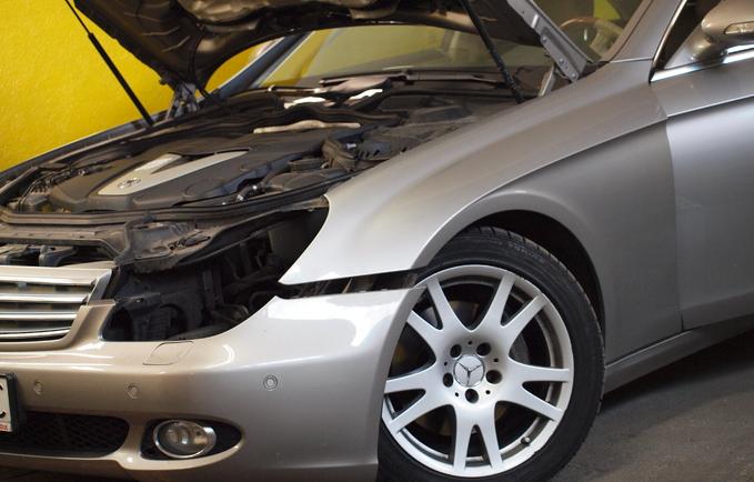 Regeneracja reflektorów Mercedes CLS
