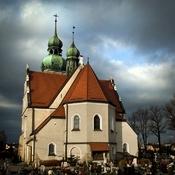 Goczałkowice-Zdrój  -  kościół św. Jerzego