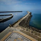 Darłówko  -  widok z Latarni Morskiej