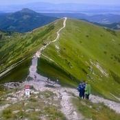 Tatry Słowackie - droga na Wołowiec