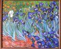 """Irysy w polu"" Vincenta van Gogha 2"