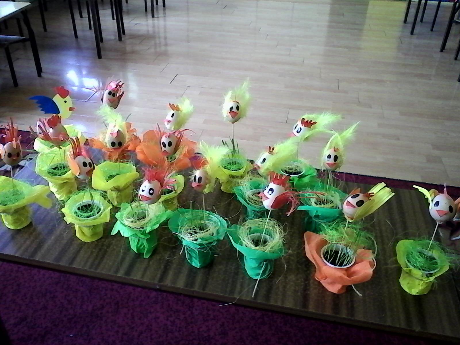 Kurczaki Zajączki I Ozdoby Wielkanocne W Przedszkolu