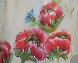 Bluzka ręcznie malowana MAK