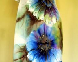 Sukienka HIBISKUS CHABER ŚMIETANOWA