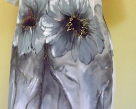 Sukienka wiosenno-letnia SZAROŚĆ