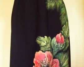 Sukienka z wełny MAK