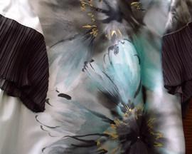 Sukienka /tunika/ z satyny