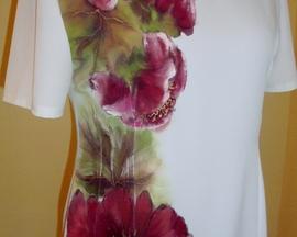 Sukienka wiosenno-letnia POWÓJ WINO