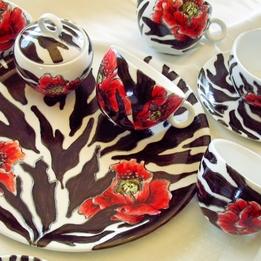 Serwis kawowo-herbaciany ZEBRA MAK