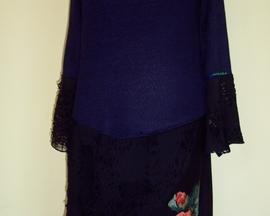 Sukienka z dzianiny sweterkowej MAK