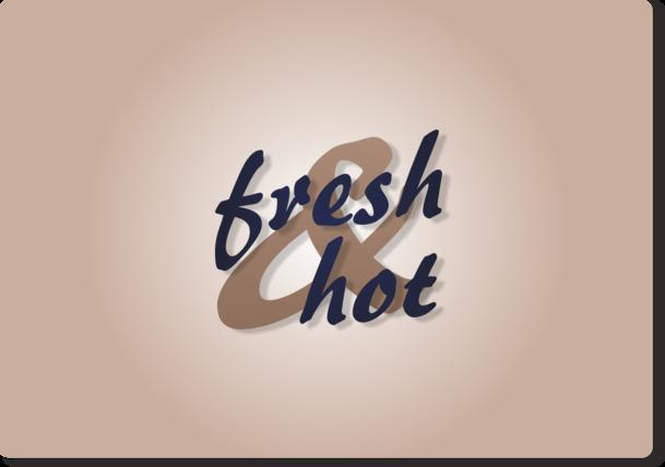 Fresh & Hot - alternatywna wersja logotypu 2