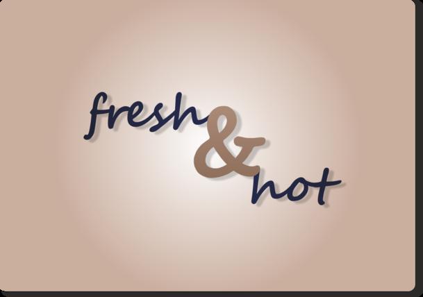 Fresh & Hot - alternatywna wersja logotypu 1