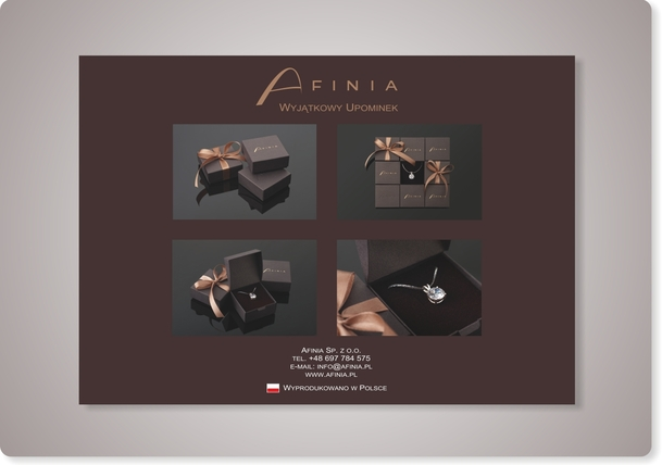 Katalog Afinia - jedna ze stron