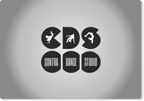 Propozycja logotypu 1 - monochromatyczna wersja  kolorystyczna