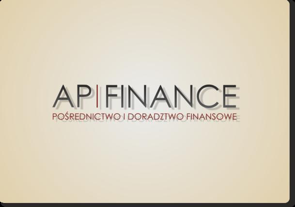 AP Finance - alternatywna propozycja logotypu 3