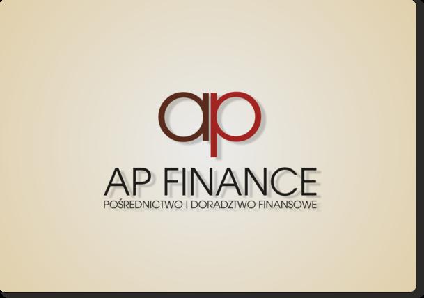 AP Finance - alternatywna propozycja logotypu 2