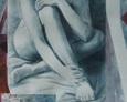 Akt z Jabłkiem 92na64 rysunek 1994 rok