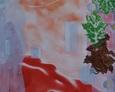 Czerwony Akt 92na64 rysunek 1996 rok