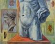 Na Piedestale 110na90 Olej, Płótno 1998 rok