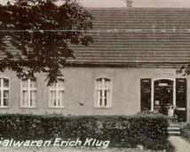 Niemiecka widokówka wsi (sklep)