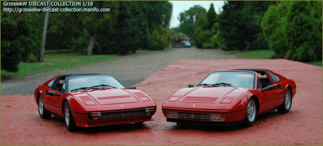 Ferrari 308 Gts Qv Vs 328 Gts Kyosho X 2 Diecast Collection Cars Grzesiekw