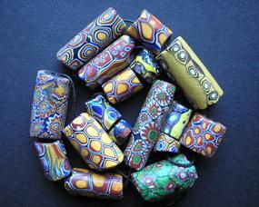 Korale Millefiori bardzo popularne w Afryce