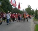 Pielgrzymi w naszej Parafii 2012